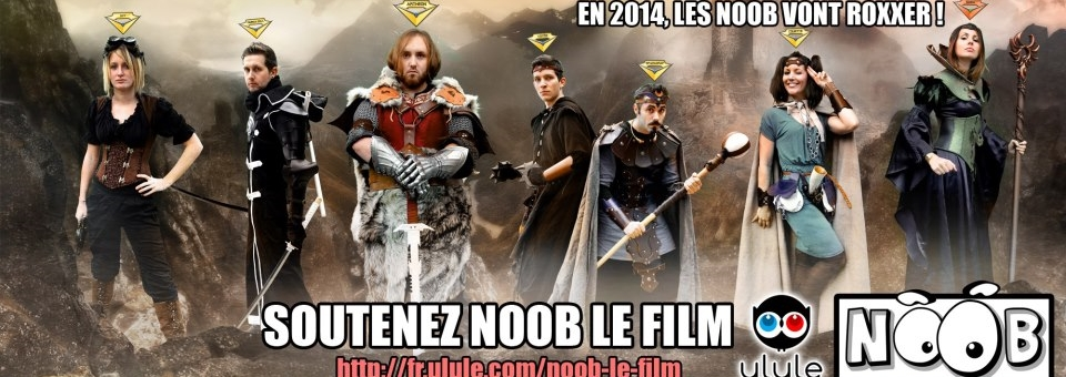 NOOB : LE FILM trop méga cool of the dead !