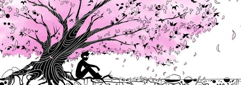 The artchemists miso soup hanami l ombre d un sakura en fleurs - Dessin arbre japonais ...