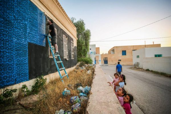 Djerbahood : street art in Tunisia