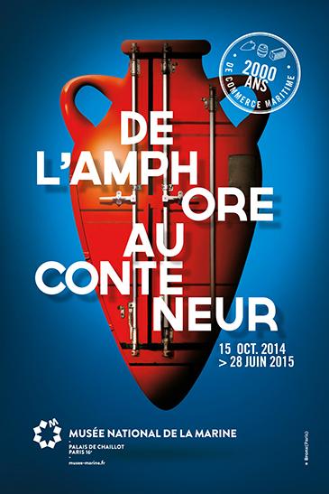 De l'amphore au conteneur : 2000 ans de commerce maritime au Musée de la Marine
