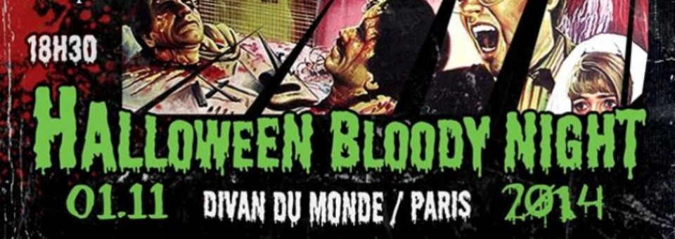 Concours Halloween Bloody Night : 2 places à gagner !!!