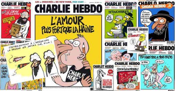 A l'avant-garde : les couvertures de Charlie Hebdo