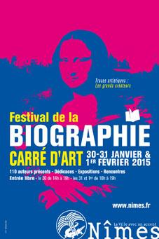 Festival de la biographie 2015 : quand Nîmes célèbre l'écriture de la vie