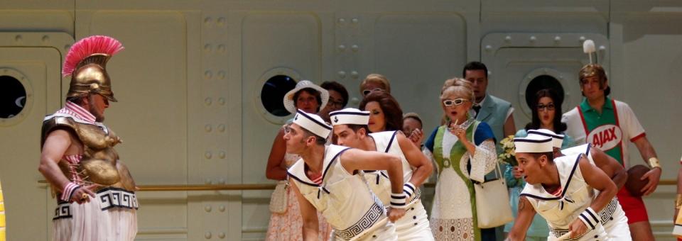 La Belle Hélène à l'opéra de Hambourg : Offenbach et La Croisière s'amuse