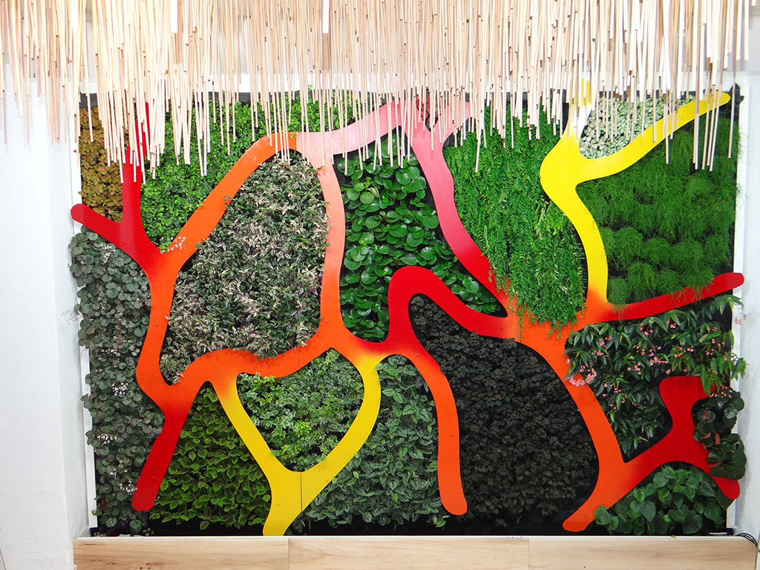 mur vegetal design images. Black Bedroom Furniture Sets. Home Design Ideas