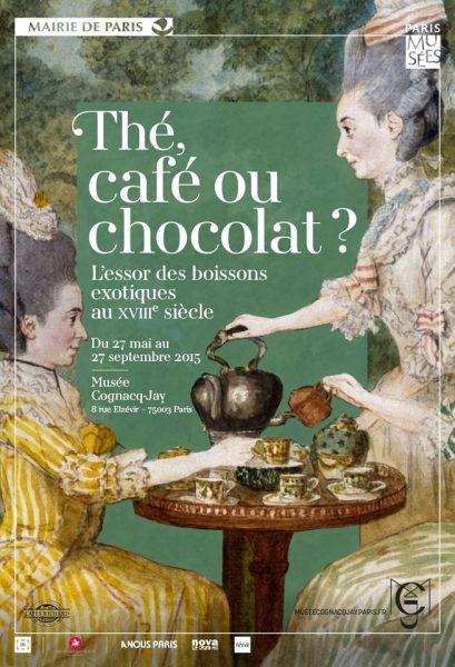 Exposition: Thé, café ou chocolat ? L''essor des boissons exotiques au XVIIIe siècle