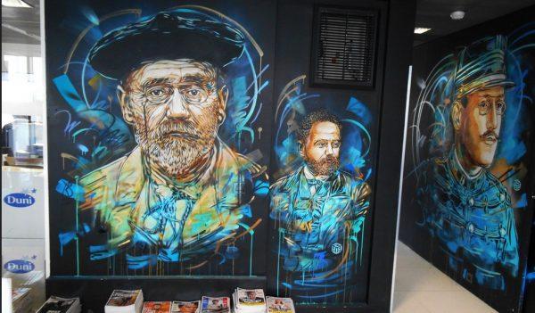 A l'avant garde: C215 – «Emile Zola & Alfred Dreyfus» – Paris