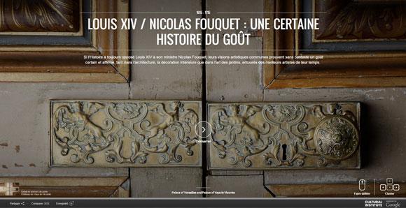 Exposition virtuelle: Louis XIV / Nicolas Fouquet, une certaine histoire du dégoût …