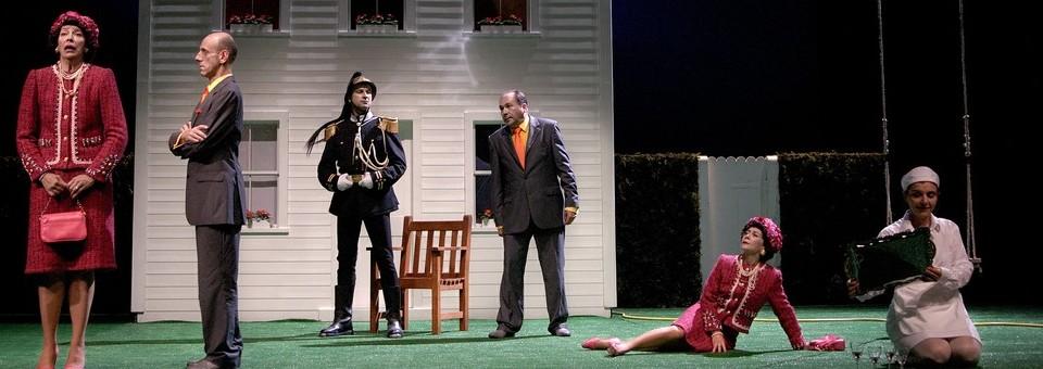 La Cantatrice Chauve: chef d'œuvre de l'absurdité et petit bolide dramaturgique!!!