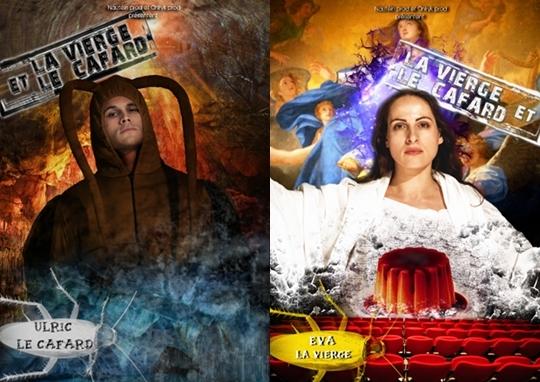 La Vierge et le cafard: l'acteur, le clown ou l'insecte …