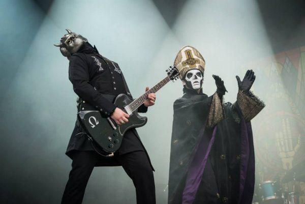 Rock en Scène 2015: quand Ghost ouvre le bal …