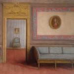 A l'avant garde: Gérald Engelvin – Intérieur au sofa gris