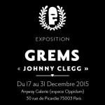 Exposition Johnny Clegg: Grems du street art à la culture zoulou