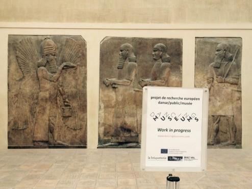 Dancing Museums au Louvre - Photo Marie Pons