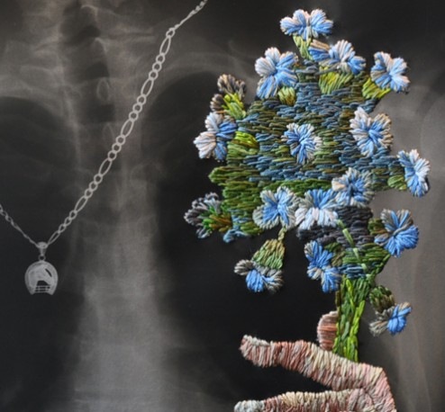 Necklace with Bouquet detail web