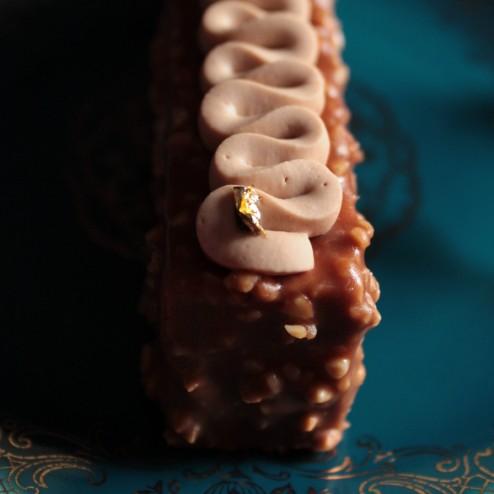 Entremets noisette - Chocolaterie de Cyril Lignac - LesVoiesPourpres - Esther Ghezzo - The ARTChemists