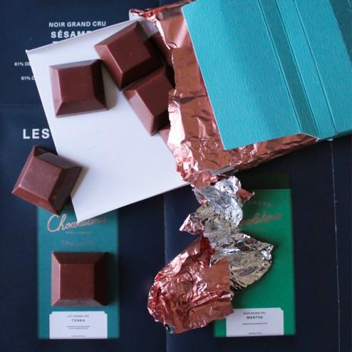 Tablette Tonka - Chocolaterie de Cyril Lignac - LesVoiesPourpres - Esther Ghezzo - The ARTChemists