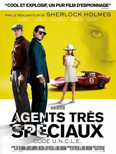 affiche du film d'espionnage agents très spéciaux