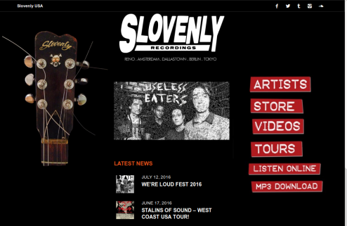 slovenly site