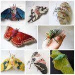 A l'avant garde: les insectes textiles de Yumi Okita