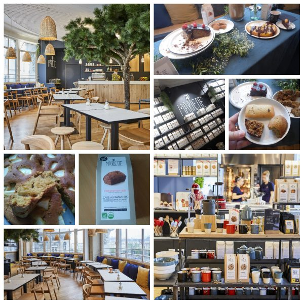 photographies du café marlette au BHV Rivoli de Paris