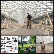 Les Plateaux de la Briqueterie2017: Pavillon Fuller, un objet artistique unique