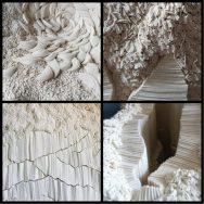 A l'avant garde: Simone Pheulpin – Un monde de plis