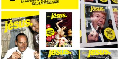 couvertures du magazine culinaire disruptif Jésus