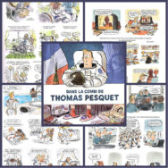 Dans la combi de Thomas Pesquet: Marion Montaignemet à nu l'homme cosmonaute