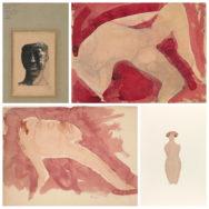 Exposition Dessiner découper: Rodin,  trouvailles et pressentiments