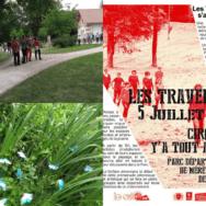 Domaine départemental de Méréville: le festival Les Traverses par temps de COVID!