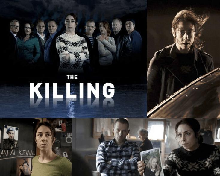 photographies extraites de la série The Killing