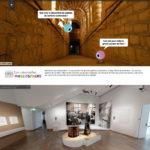 Expositions virtuelles: catacombes parisiennes ou psychanalyse de Freud?