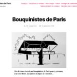 Des quais au digital, les Bouquinistes de Paris ont enfin un site !