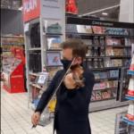 Solution culturelle anti COVID: le supermarché est un putain de théâtre!!