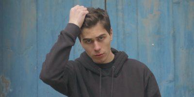 Portrait du rappeur Ajar