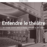 Podcast Entendre le théâtre