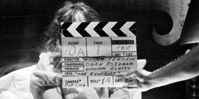 Photo du tournage du film L'Exorciste