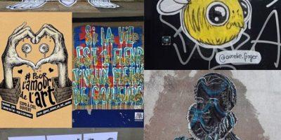 exposition à ciel ouvert pour l'amour de l'art à nantes