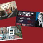 Expositions en vrai dans la vraie vie : Paris, Gainsbourg, Limoges ?