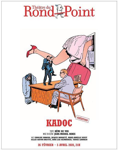 affiche pièce de théâtre Kadoc