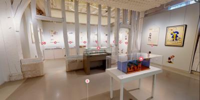 vue de l'exposition virtuelle Les enfants de la résistance