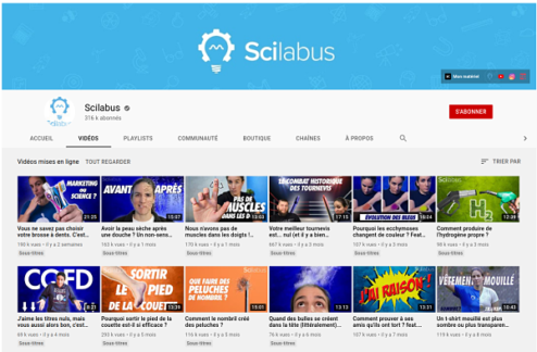 chaine youtube scilabus