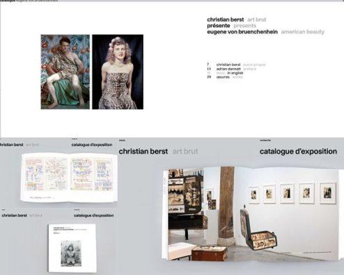 catalogues en ligne de la galerie d'art brut Christian berst