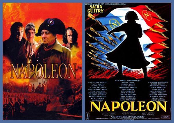 affiches films napoléon biopics