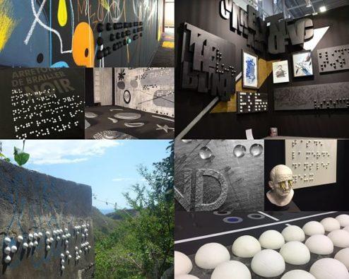 oeuvres street art de The Blind