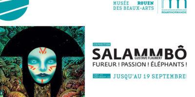 affiche de l'exposition salammbo