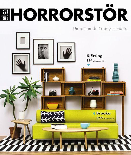 couverture du roman horrorstore