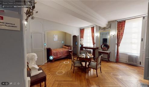 intérieur du musée flaubert