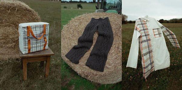 pantalon laine delannée